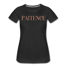 Load image into Gallery viewer, PAITENCE-Women's Premium T-Shirt - black