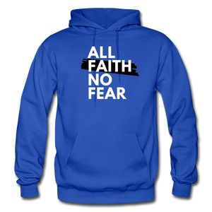 NO FEAR- Heavy Blend Adult Hoodie - royal blue