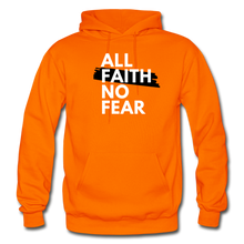 Load image into Gallery viewer, NO FEAR- Heavy Blend Adult Hoodie - orange