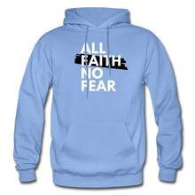 Load image into Gallery viewer, NO FEAR- Heavy Blend Adult Hoodie - carolina blue