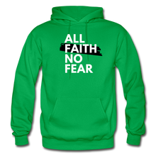 Load image into Gallery viewer, NO FEAR- Heavy Blend Adult Hoodie - kelly green