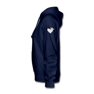 Born Strong-Women's Hoodie - navy