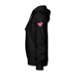 Born Strong-Women's Hoodie - black