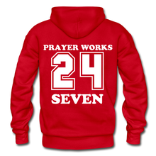 Load image into Gallery viewer, Gildan Heavy Blend Adult Hoodie - red
