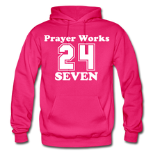 Load image into Gallery viewer, Gildan Heavy Blend Adult Hoodie - fuchsia
