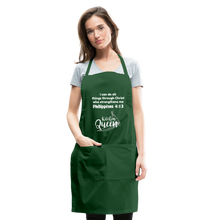 Load image into Gallery viewer, Kitchen Queen-Adjustable Apron - forest green