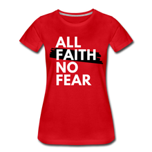 Load image into Gallery viewer, NO FEAR WOMEN'S- Ultra Cotton Ladies T-Shirt*** Runs Large - red