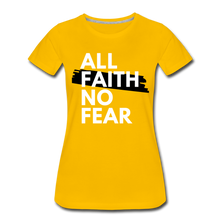 Load image into Gallery viewer, NO FEAR WOMEN'S- Ultra Cotton Ladies T-Shirt*** Runs Large - sun yellow