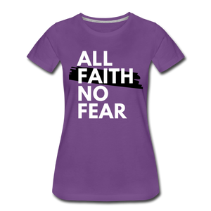 NO FEAR WOMEN'S- Ultra Cotton Ladies T-Shirt*** Runs Large - purple