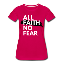 Load image into Gallery viewer, NO FEAR WOMEN'S- Ultra Cotton Ladies T-Shirt*** Runs Large - dark pink