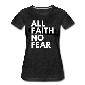 NO FEAR WOMEN'S- Ultra Cotton Ladies T-Shirt*** Runs Large - charcoal gray