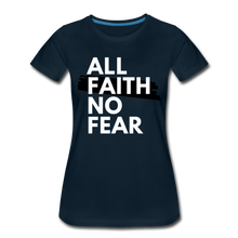 Load image into Gallery viewer, NO FEAR WOMEN'S- Ultra Cotton Ladies T-Shirt*** Runs Large - deep navy