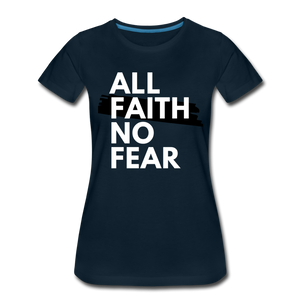 NO FEAR WOMEN'S- Ultra Cotton Ladies T-Shirt*** Runs Large - deep navy