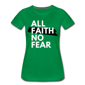 NO FEAR WOMEN'S- Ultra Cotton Ladies T-Shirt*** Runs Large - kelly green