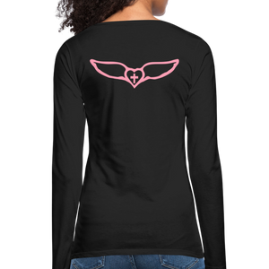 Favor-Women's Premium Long Sleeve T-Shirt - black