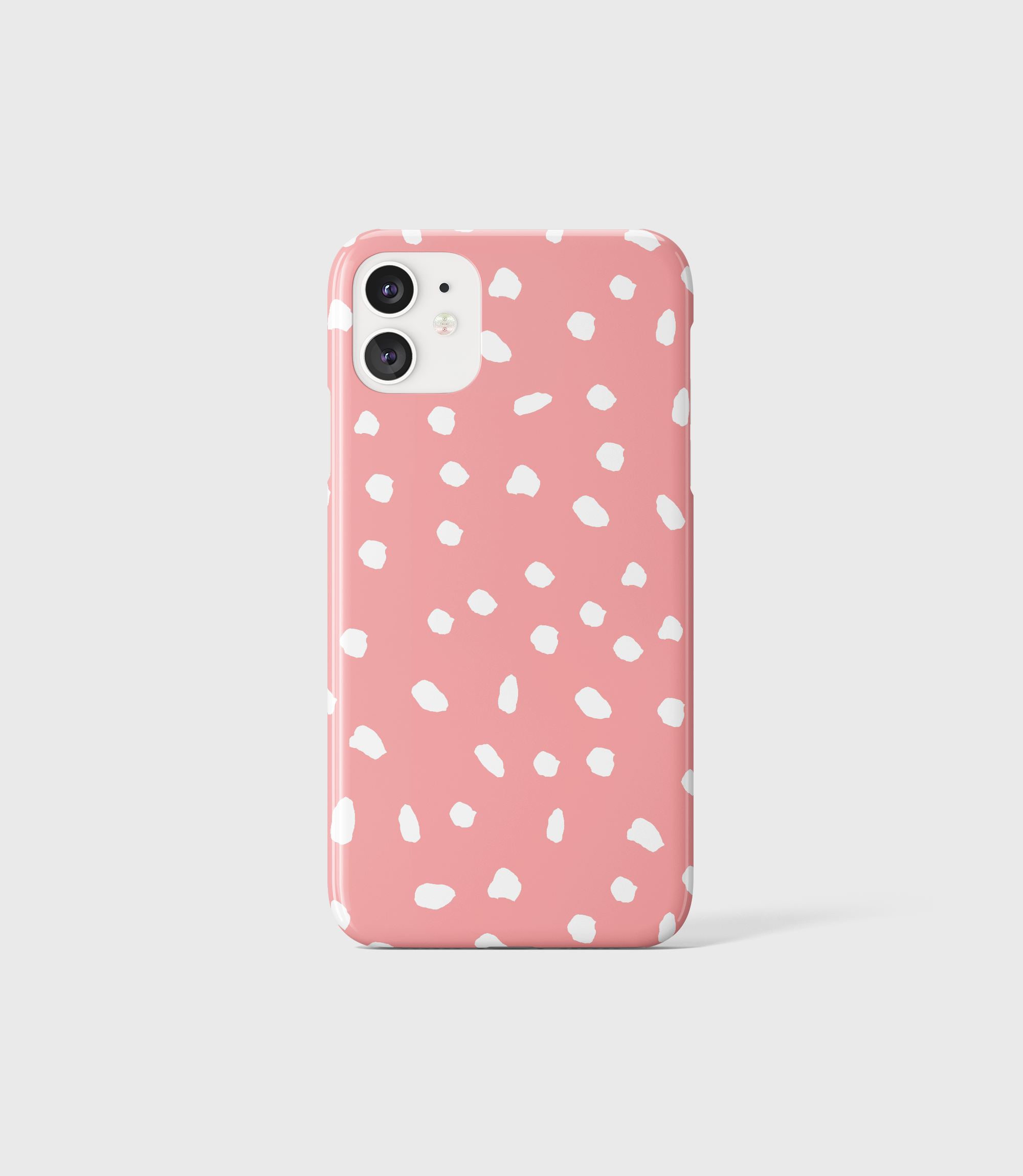 Pink Dots Phone Case - iPhone