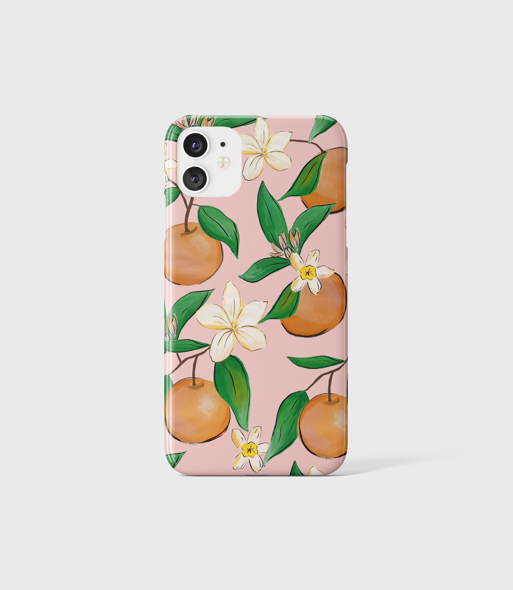 Orange Blossom Phone Case - iPhone