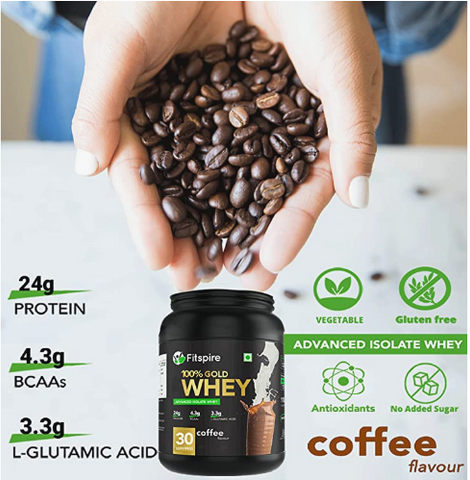 Best whey protein for muscle gain in India