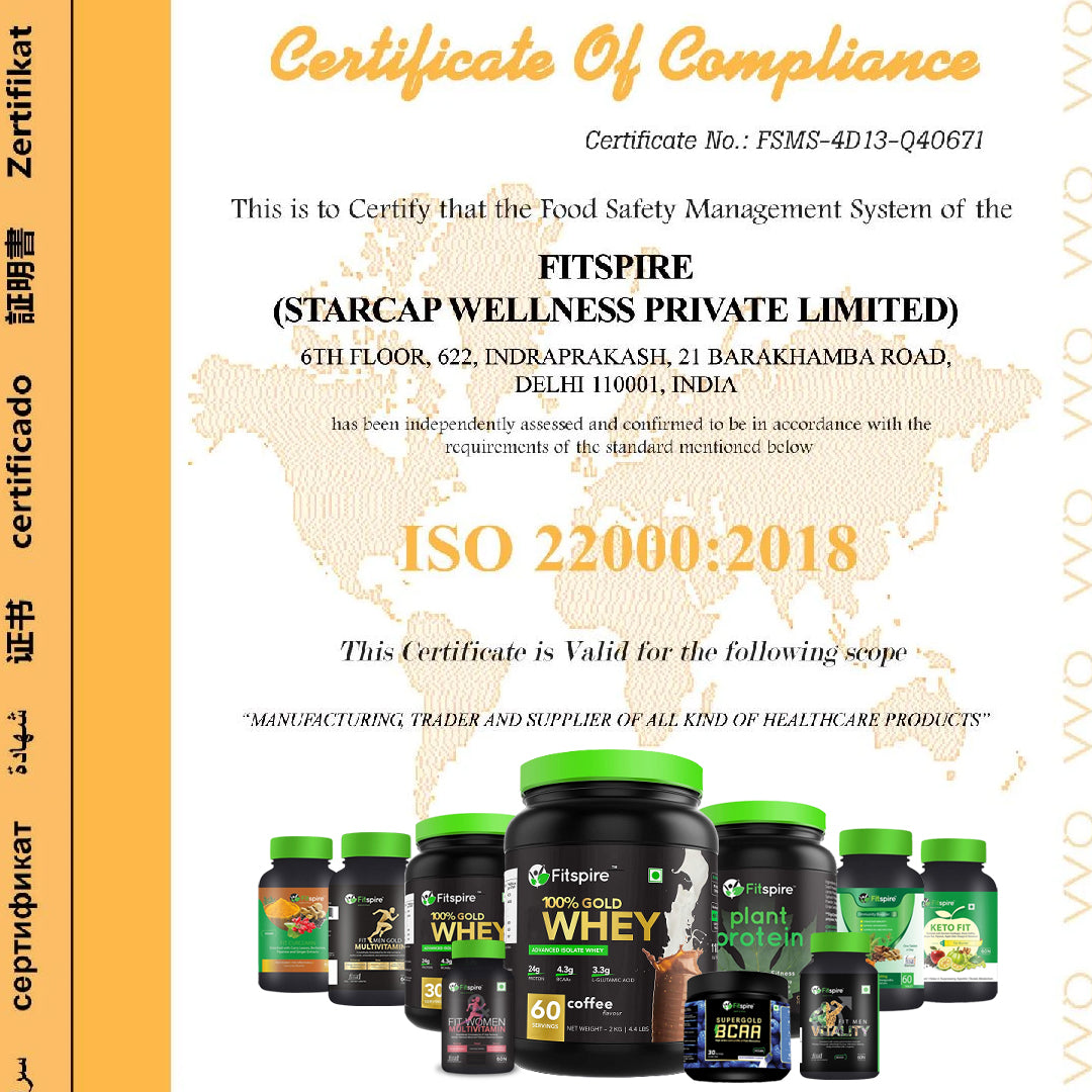 Fitspire Fit Men Gold Multivitamin Combo Pack