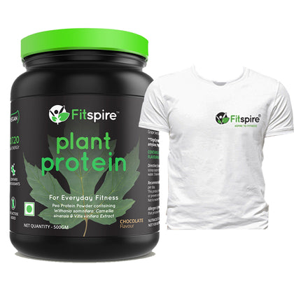 Fitspire Vegan Protein with Tshirt