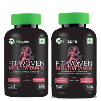 Fitspire Fit Women Multivitamin Combo Pack