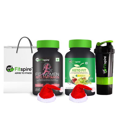 Fitspire Fit Women Multivitamin + Keto Fit | Fitspire Winter Sale Combo