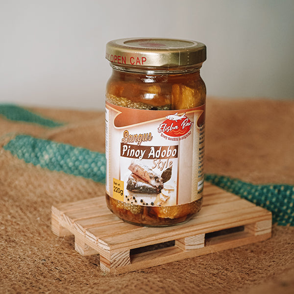 Pangasinan Bottled Bangus Pinoy Adobo (220g)