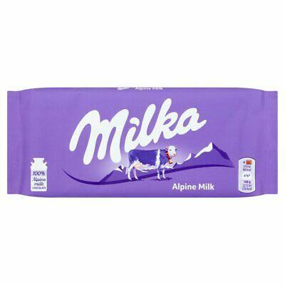 CHOCOLATE MILKA ALPINE 100 G