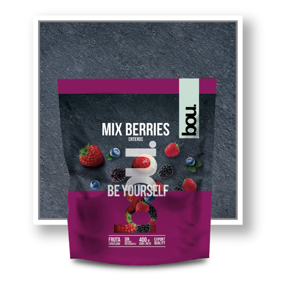 MIX BERRIES CONGELADOS IQF BOU 400GR