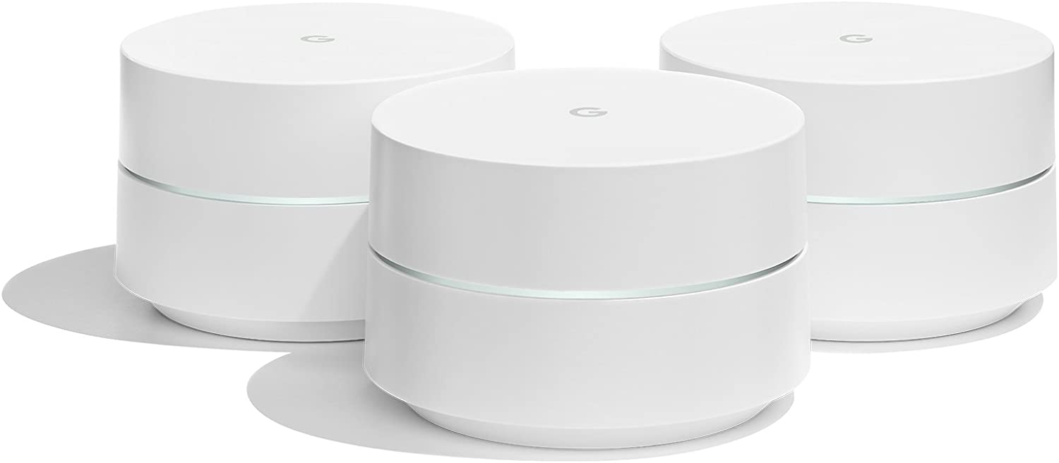 Google Wifi - 3 Pack - Mesh Router Wifi