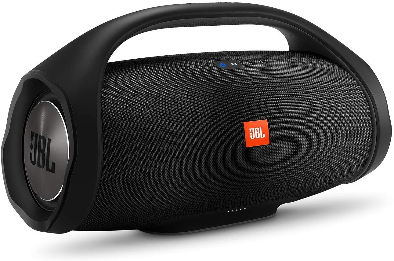 JBL BOOMBOX Waterproof Portable Bluetooth Speaker, Black: Manufacturer Refurbished