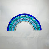 Rainbow Mosaic Kit - Blue Stripes