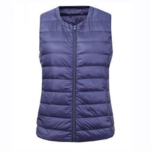 Load image into Gallery viewer, NewBang Brand 6XL 7XL Large Size Waistcoat Women's Warm Vest Ultra Light Down Vest Women Portable Sleeveless Winter Warm Liner