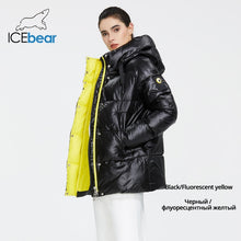 Load image into Gallery viewer, ICEbear 2020 New Winter Jacket High Quality Hooded Coat Women Fashion Jackets Winter Warm Woman Clothing Casual Parkas GWD19502I