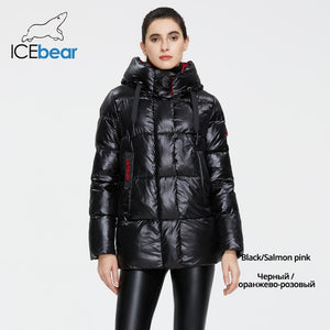 ICEbear 2020 New Winter Jacket High Quality Hooded Coat Women Fashion Jackets Winter Warm Woman Clothing Casual Parkas GWD19502I