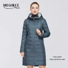 Load image into Gallery viewer, MIEGOFCE 2020 New Design Spring Jacket Women's Coat Windproof Warm Female Parka European and American Female Model Women's Coat