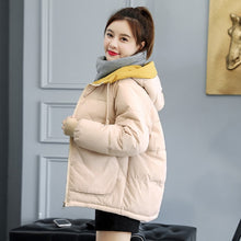 Load image into Gallery viewer, Orwindny Winter Coat Women 2020 Fashion Winter Jacket Women Cotton padded Parka Outwear Hooded 7 Colors Solid Female Jacket Coat