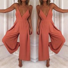 Load image into Gallery viewer, Fashion Women Ladies Clubwear Hollow Playsuit Bodycon Party Jumpsuit&Romper Trousers