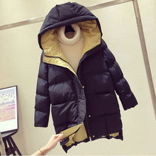 Load image into Gallery viewer, 2020 Winter Women Jacket Long Hooded Cotton Padded Female Coat High Quality Warm Outwear Womens Parka Manteau Femme Hiver P787
