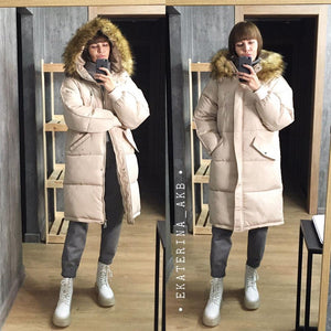 Foreign-style cotton-padded clothes cotton-padded clothes women's tide winter clothing 2020 new cotton-padded jacket