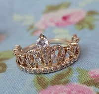 Gold Doll Crown