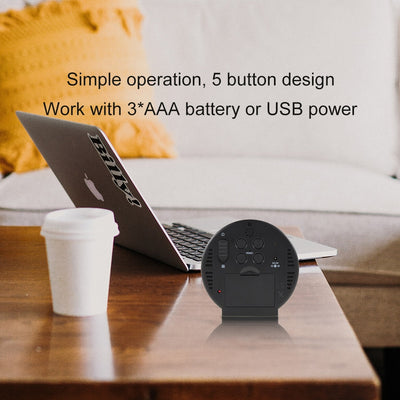 Voice Control USB Desk Table Watch