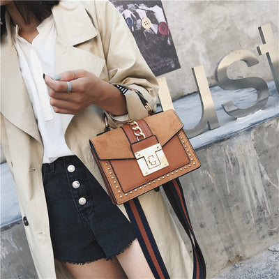 Women's PU Leather Crossbody Bag