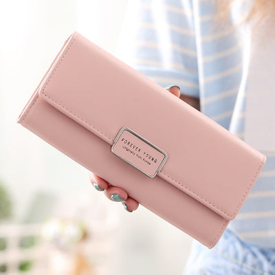 Women's 3 Fold Wallet Purse