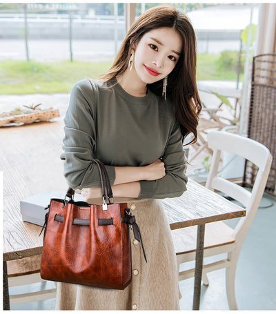 Large Capacity Vintage Shoulder Bags