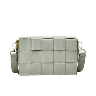 Women's Imitation Leather Square Small Bag
