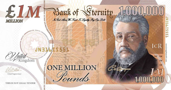 Million Pound Note Tracts - NEW (2019)