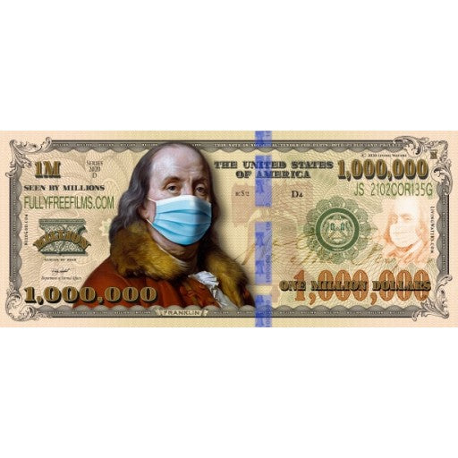 Masked Million Dollar Bill