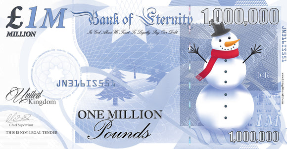 Christmas Million Pound Notes (2019)