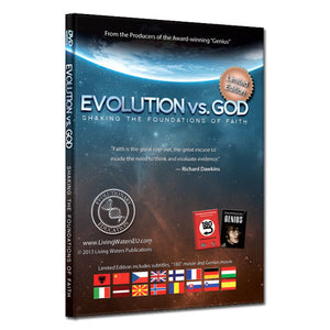 Evolution vs God Limited Edition DVD